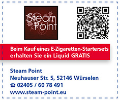 Gutschein Steam Point (Am Markt)