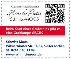 Gutschein Aachener Beerdigungsinstitut Schmitt-Moos