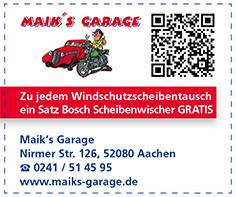 Gutschein Maik's Garage