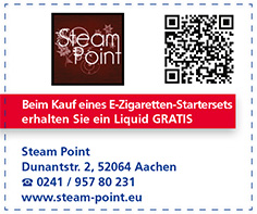 Gutschein Steam Point (An der Normaluhr)