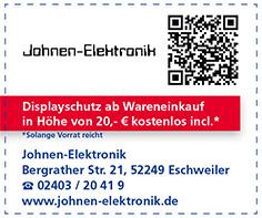 Gutschein Johnen Elektronik